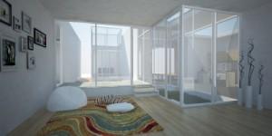 דלתות זכוכית מוסיפות לעיצוב הבית